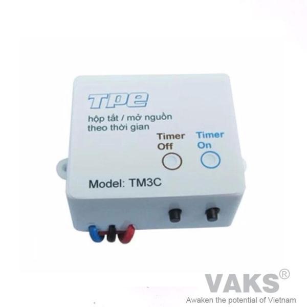 Công tắc hẹn giờ tuần hoàn TPE TM3C, Điện áp 110 - 220V AC, Công suất 800W - 5A