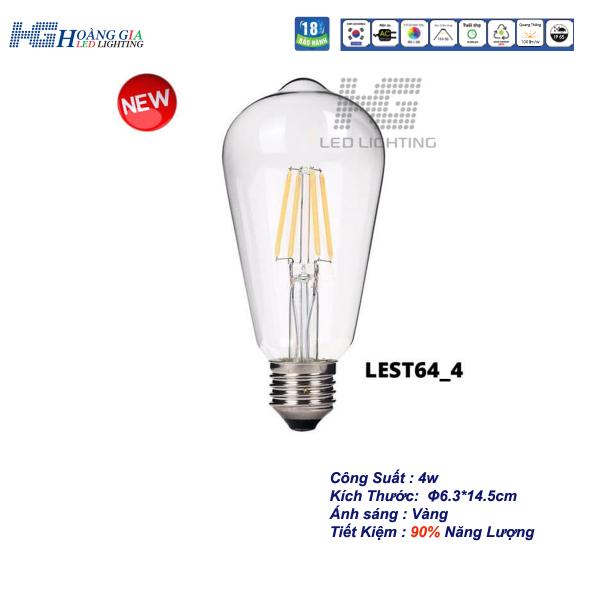 Đèn LED Trang Trí Edison ST64 4W