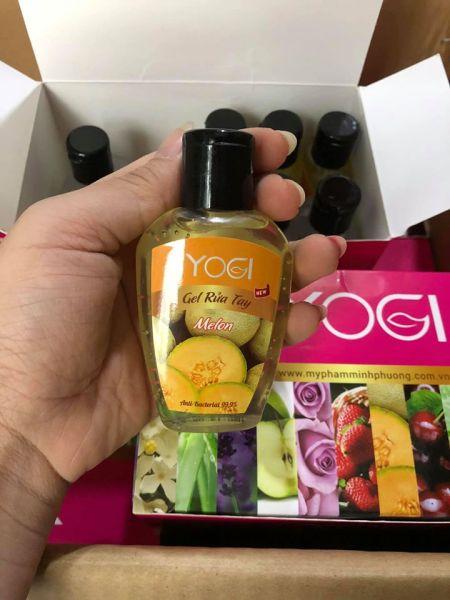 Gel Nước Rửa Tay Khô YOGI  chai 70ml nhiều hương CAO CẤP nhập khẩu
