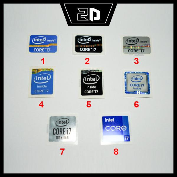 Bảng giá Sticker Intel Core i7 trang trí Laptop/PC/Mobile Phong Vũ