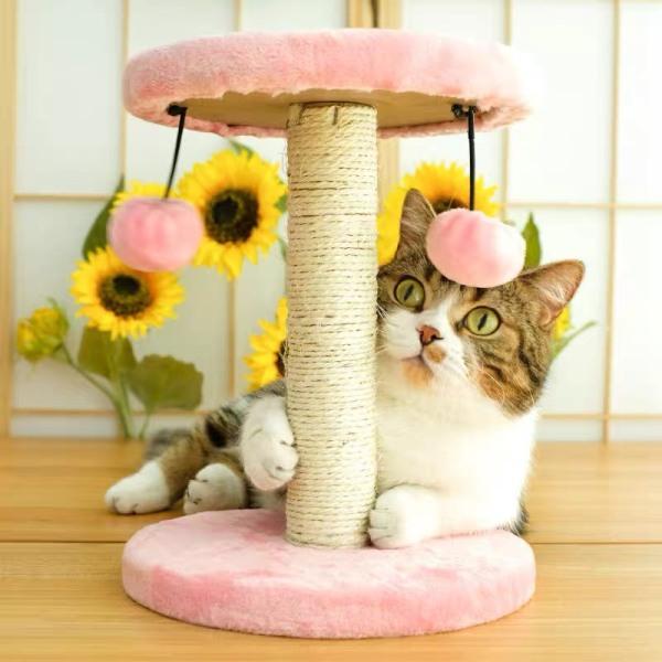 Trụ cào móng cho mèo kèm đồ chơi ngộ nghĩnh - Đồ chơi cho mèo