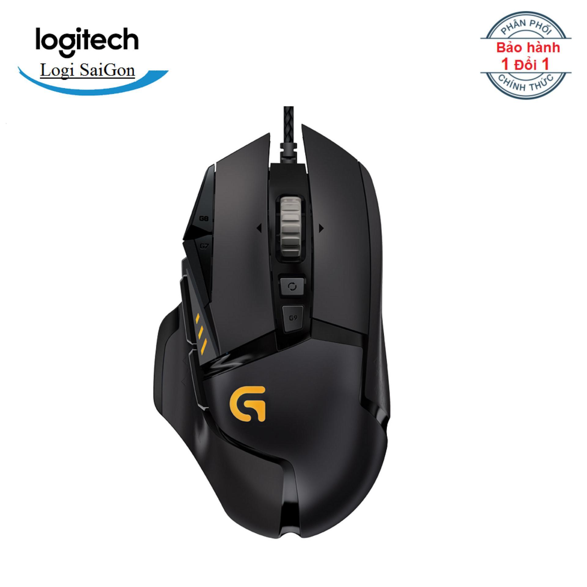 Chuột game Logitech G502 Proteus Spectrum RGB - Hãng phân phối chính thức