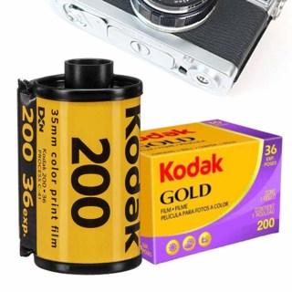 2022 Kodak 135 Phim vàng Kodak GOLD200 Phim âm bản màu Kodak Mỹ Chính hãng thumbnail