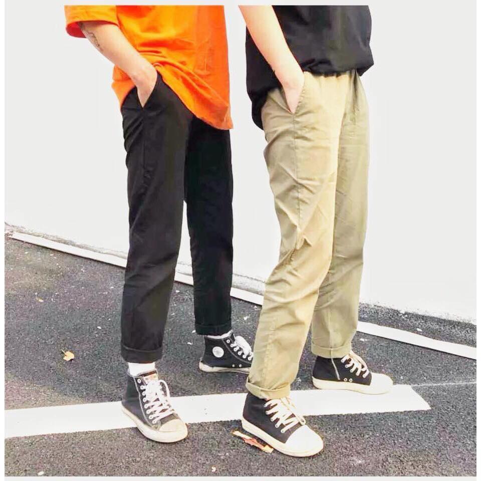 quần kaki nam basic pants hot trend