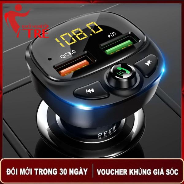 Tẩu sạc nhanh HY-87 kiêm nghe nhạc MP3 Bluetooth