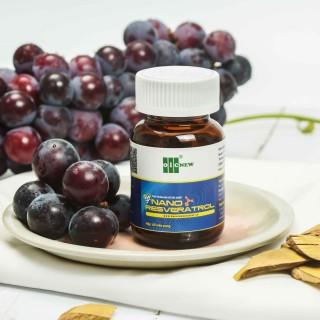 Nano Resveratrol OIC - Tăng sức đề kháng, bảo vệ tim mạch và chống oxy hóa (Lọ 60 viên nang 550mg) thumbnail