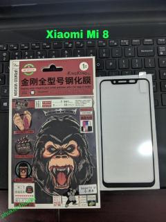 Cường lực Kingkong cho Xiaomi Mi 8 Full màn Full keo chất đẹp cao cấp thumbnail