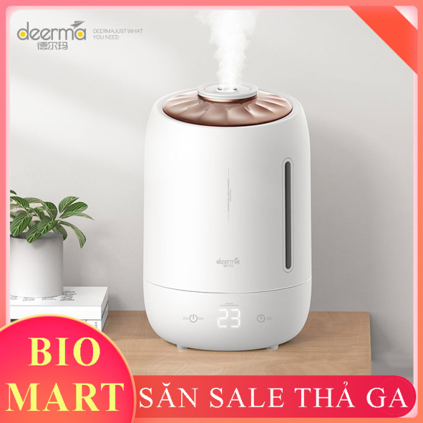 Máy Phun Sương Tạo Ẩm Cao Cấp Deerma F600 - Máy tạo ẩm dung tích 5 Lít, Công suất lớn – BIO161