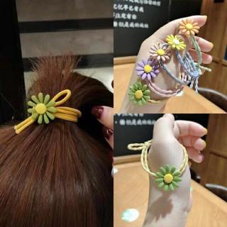 Set 5 Dây Cột Tóc Hoa Cúc Mặt Trời Siêu Dễ Thương Phong Cách Hàn Quốc thumbnail