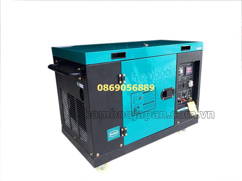Máy phát điện 7KW chạy dầu Bamboo BMB 8800ET-S