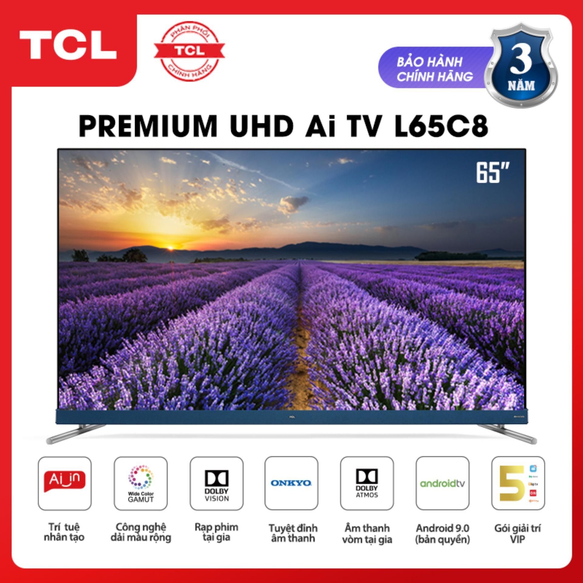 Bảng giá Android Tivi TCL 65 inch 4K UHD L65C8