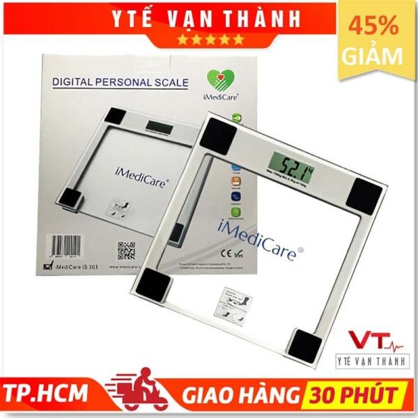✅ Cân Sức Khoẻ Điện Tử: iMediCare iS-303 (Loại Tốt) - VT0071 [ Y Tế Vạn Thành ] cao cấp
