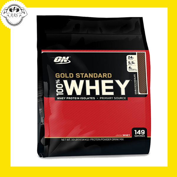 WHEY PROTEIN - OPTIMUM NUTRITION - GOLD STANDARD 100% WHEY - 10lbs