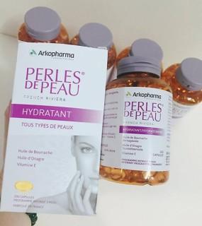 Viên uống đẹp da Perles De Peau thumbnail