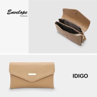 Túi đeo chéo nữ dáng chữ nhật nắp gập IDIGO FB2-345-00 thumbnail