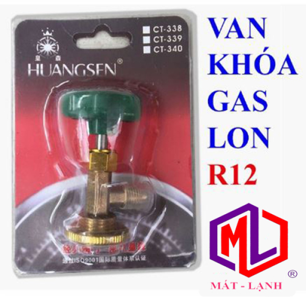 [HCM]Van Khóa Gas Lon R12