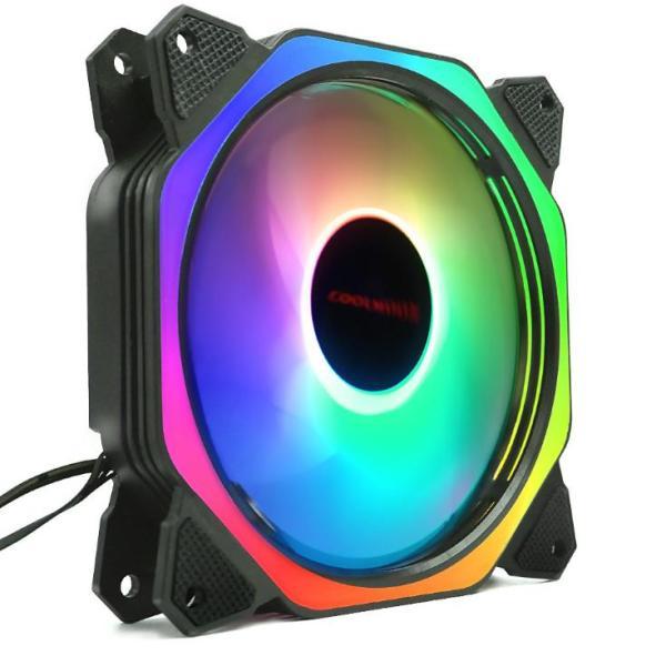 Giá Fan Case Coolmoon Led RGB Symphony (Ver 8 Plus) - Led Ring Và Led Trong Fan