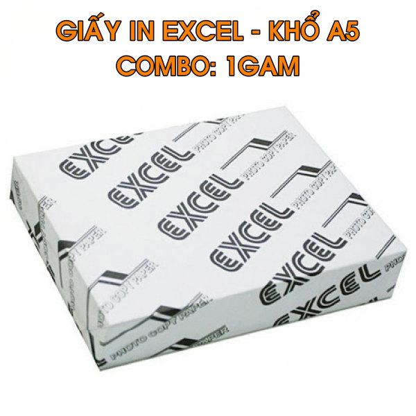 Mua 1 Gam Giấy in đơn hàng A5 Excel 70gsm - Giấy in Excel giá rẽ