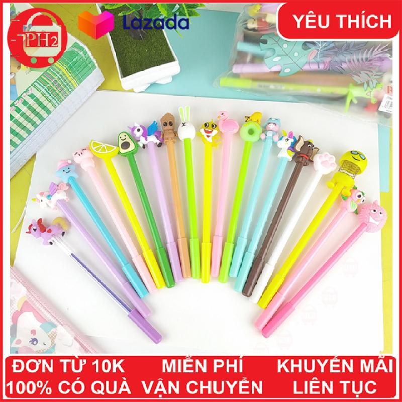Mua Combo 20 bút bi xanh nhiều hình cực đẹp giá rẻ, chất lượng ✓bút cute ✓bút bi ✓bút bi cao cấp  ✓bút mực ✓bút bi cute ✓ Phát Huy Hoàng