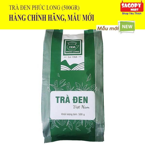 [TRÀ THƯỢNG HẠNG] Trà Đen Cao Cấp Phúc Long Tea (Gói 500gr) Tặng 03 Ống Hút Trân Châu (Size 12) Chuyên nguyên liệu trà sữa, trân châu đường đen, trà, trà đen cao cấp, tra den hoa tran, tran chau, duong den, tra sua - SAGOPY MART