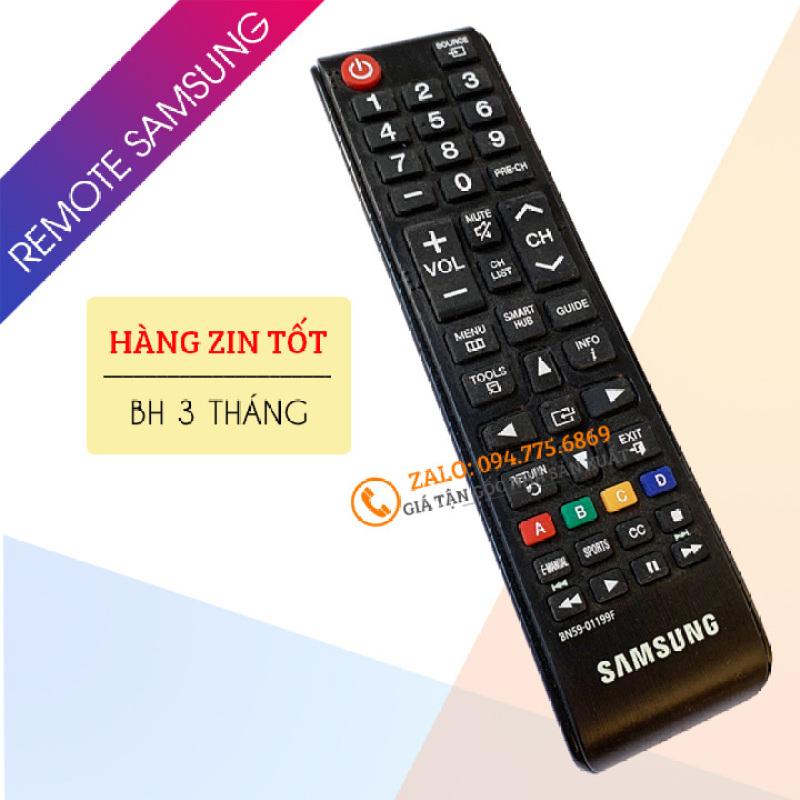 Bảng giá [ Hàng Zin Tốt ] Điều Khiển Tivi Samsung Smart Tivi Ngắn BN59-01199F - Remote Tivi Samsung Tương Thích Tv LED LCD