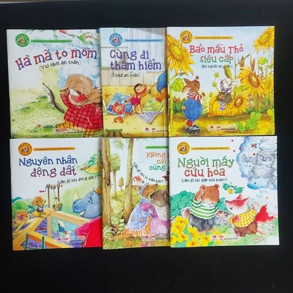 Sách- Chúng ta bảo vệ con - Kỹ Năng sống picture books (HH) - Người máy cứu hỏa