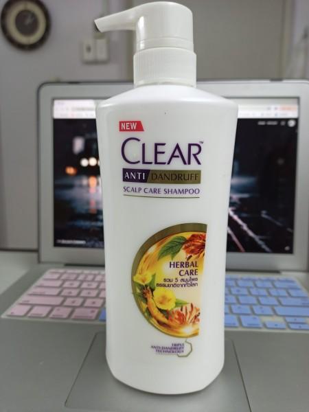 Dầu gội đầu Clear Thảo Dược Thai Lan 450ml giá rẻ