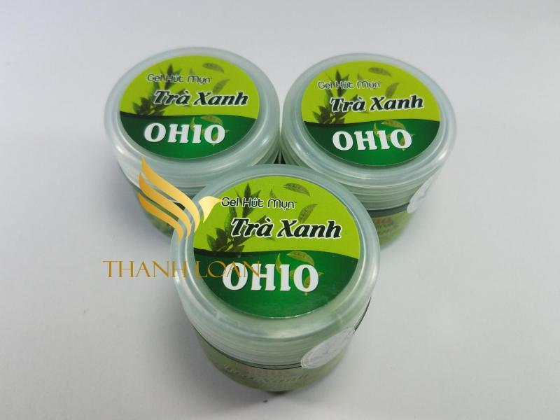 Combo 3 Gel Hút Mụn Trà Xanh Ohio - Gel Lột Mụn Cám - Gel Lột Mụn Đầu Đen - Mặt Nạ Lột Mụn - Trị Mụn Đầu Đen - Thanh Loan