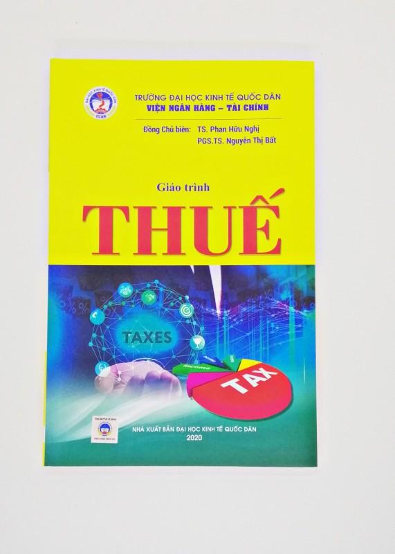 Mua Giáo Trình Thuế