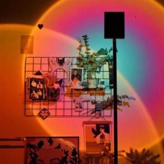 [RẺ VÔ ĐỊCH]Đèn Sống Ảo TikTok Đèn hoàng hôn Đèn Led trang trí phòng thumbnail