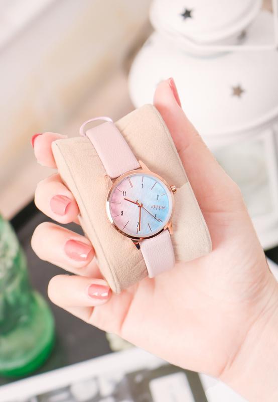 Đồng hồ nữ Julius Hàn Quốc JA-1253C dây da cá tính