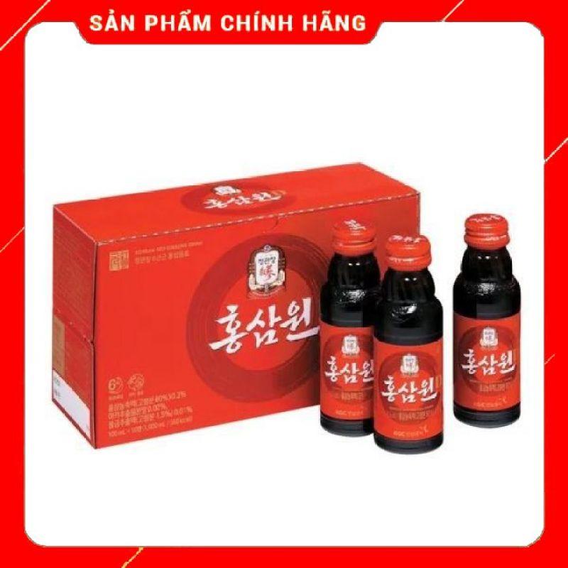 Nước Tăng Lực Hồng Sâm Won (100ml * 10 chai) giá rẻ
