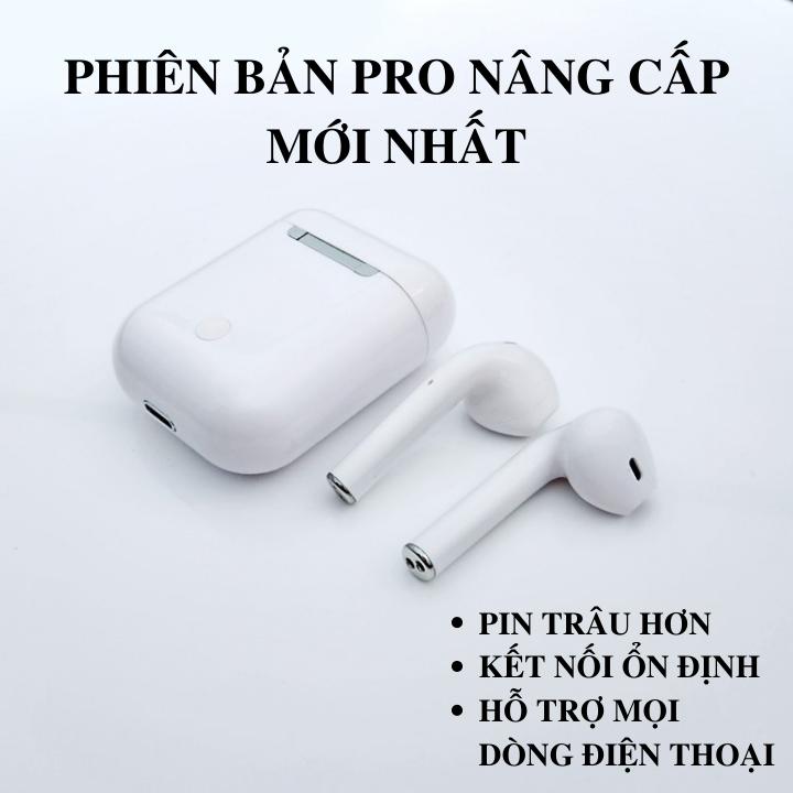 Tai Nghe Bluetooth Thế Hệ 12 Phiên Bản Pro Nâng Cấp Hiện Cửa Sổ Tự Động Kết Nối , Nút Cảm Ứng, Micro HD, Giảm Ồn Tuyệt Đối - Tai Nghe Bluetooth i12, Tai nghe bluetooth không dây