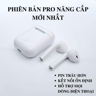 Tai Nghe Bluetooth Thế Hệ 12 Phiên Bản Pro Nâng Cấp Hiện Cửa Sổ Tự Động Kết Nối , Nút Cảm Ứng, Micro HD, Giảm Ồn Tuyệt Đối - Tai Nghe Bluetooth i12, Tai nghe bluetooth không dây thumbnail