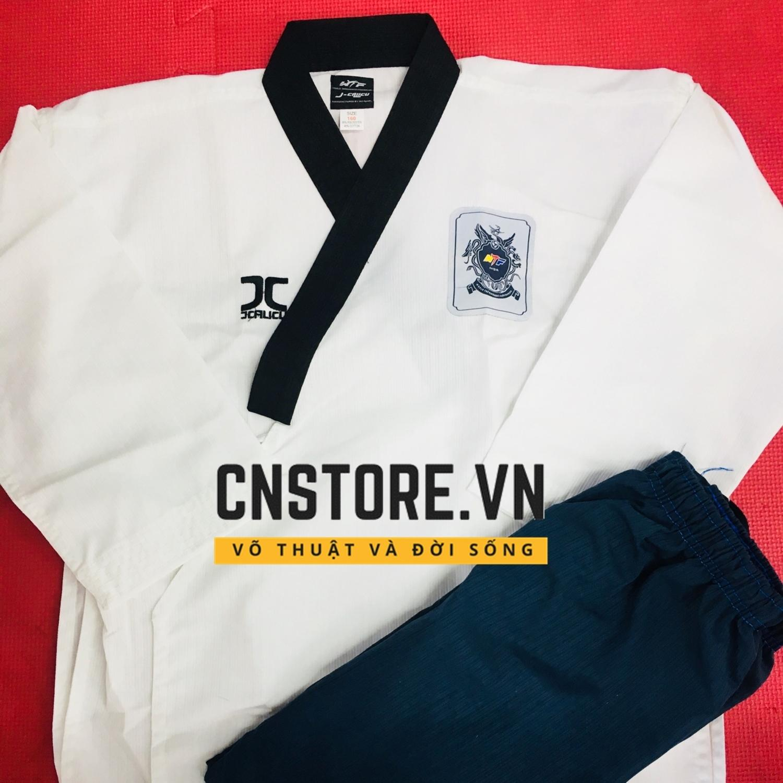 Siêu Giảm Giá Khi Mua Quần Áo Võ - Võ Phục Taekwondo Quyền Vải Sọc JC Cao Cấp