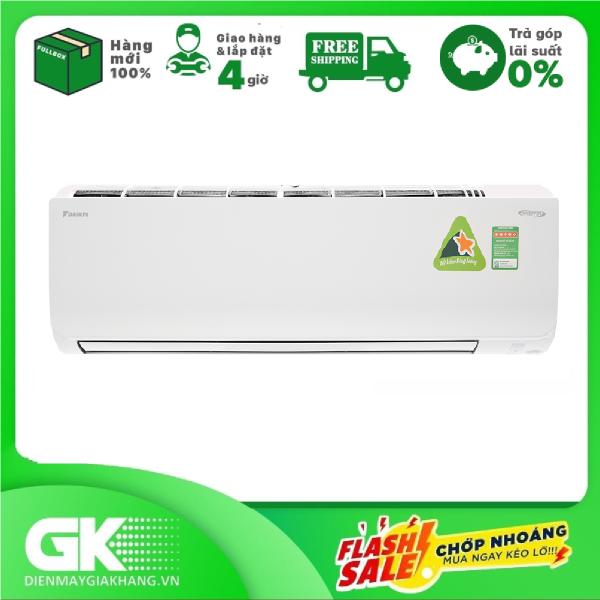 [Nhập ELMAY21 giảm 10% tối đa 200k đơn từ 99k]Máy lạnh Daikin Inverter 1.5 HP FTKM35SVMV