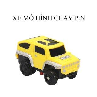 Đồ chơi trẻ em- Đồ chơi phát triển trí tuệ trẻ- Đồ chơi lắp ghép đường ray ô tô, tàu hỏa nhiều chi tiết cho bé thumbnail