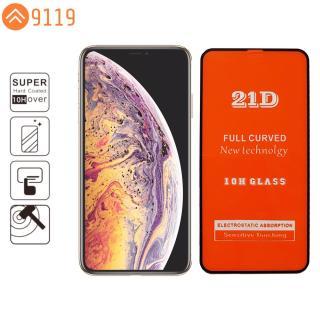 KÍNH CƯỜNG LỰC 21D IPHONE XS MAX FULL KEO FULL MÀN HÌNH - 9119 STORE thumbnail