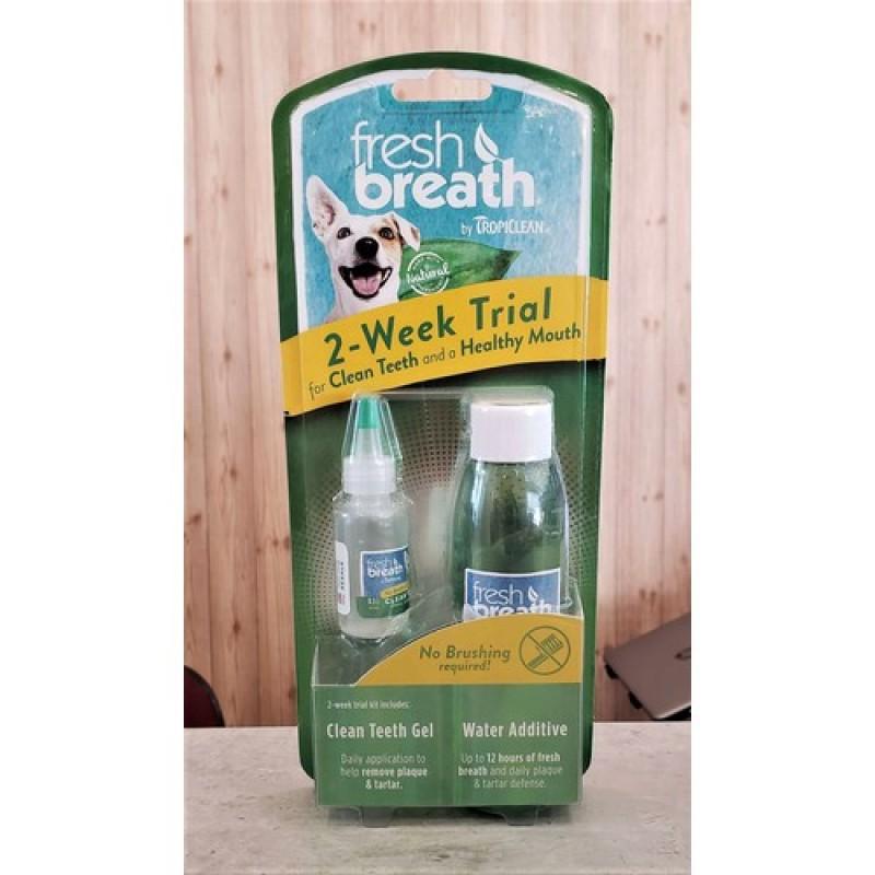 Gel làm sạch răng miệng cho chó mèo TropiClean Fresh Breath