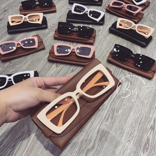 Giá bán Kính mát gọng vuông phong cách Retro thời trang xu hướng mới - Kính mắt vuông chống tia UV bảo hành 12 tháng lỗi 1 đổi 1 037