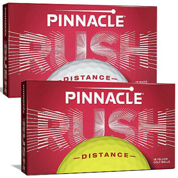 Bóng Golf Pinnacle Rush 2020 Ball set 15 bóng màu trắng - vàng 2 lớp tùy chọn