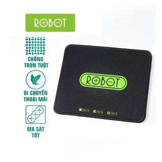Miếng Lót Chuột Kiểu Dáng Gaming ROBOT RP01 Kích thước 22 x 18 cm Chất liệu Vải + Cao su - Hàng chính hãng thumbnail
