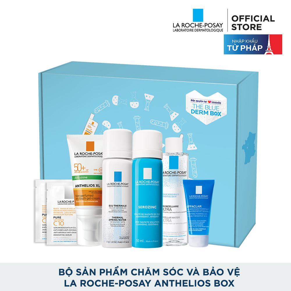 Bộ sản phẩm chăm sóc và bảo vệ La Roche-Posay Anthelios Box tốt nhất