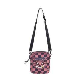 TSUN Mascot Shoulder Bag - Black Pink - unisex thumbnail