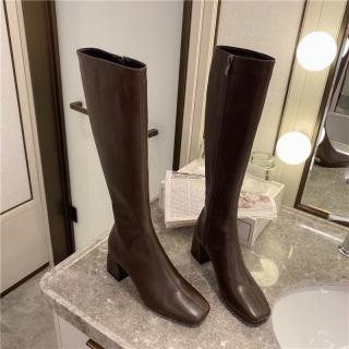 Boot cao cổ da mềm thumbnail
