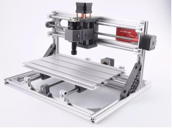 Máy Cắt, Khắc CNC 3018 Pro + 10 mũi phay PCB + ER11 + 4 kẹp phôi + đĩa chương trình + hướng dẫn Chuyên Dụng