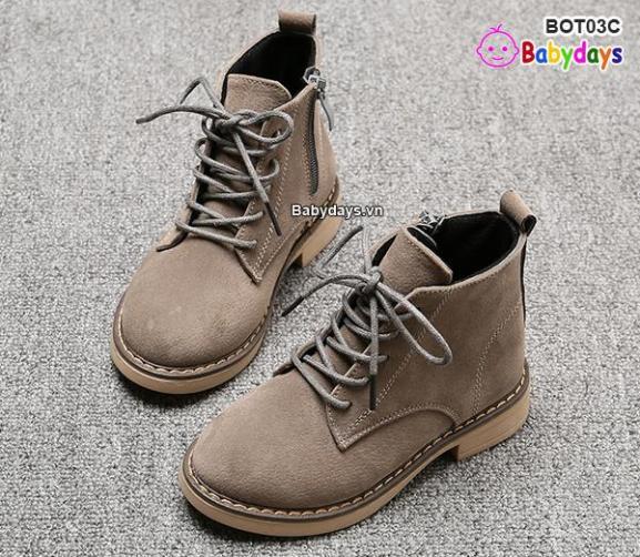 Giày boots cho bé BOT03C giá rẻ