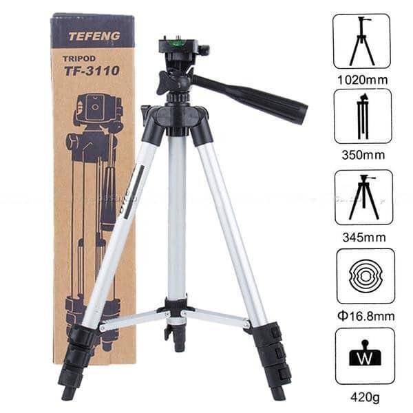 Giá đỡ chụp ảnh 3 chân có thể kéo dài TRIPOD 3110, Gía 3 chân chụp ảnh tùy chỉnh đa năng - Gia dụng Huy Tuấn