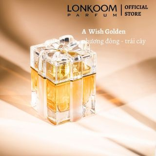 nước hoa cho phụ nữ LONKOOM PARFUM A WISH GOLD 100ML thumbnail