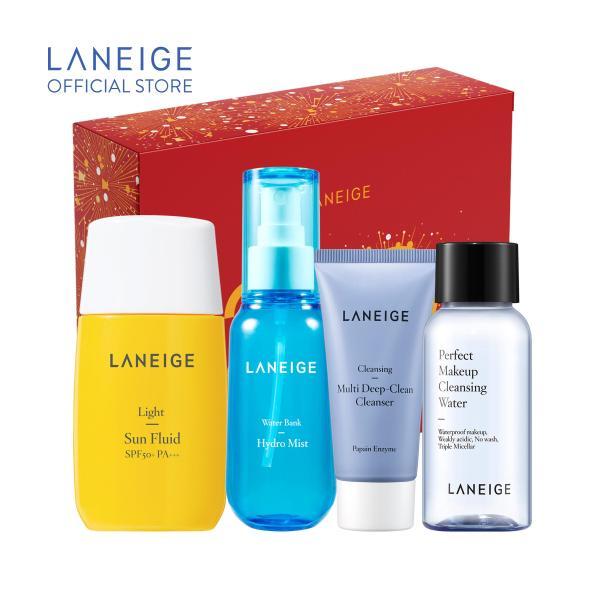 Bộ dưỡng ẩm và chống nắng bảo vệ da toàn diện Laneige Set tốt nhất